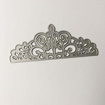 FNKDOR Fustelle per Scrapbooking, Fustellatrice Fustella Stencil Metallo Cutting Dies DIY Stampo Carta Album Foto, Accessori per Big Shot e Altre Macchina (F) - 2