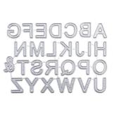 Fustelle per Scrapbooking, FNKDOR Metallo Fustella Cutting Dies Stencil DIY Scrapbooking Album Foto, Accessori per Big Shot e Altre Macchina (H) - 1
