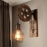 Lampada da parete E27 Vintage Retro parete illuminazione creativo beleutung per scala corridoio Cafe Bar Ristorante Hotel - 1