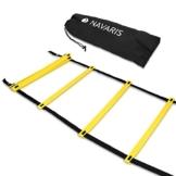 Navaris Scala per Allenamento Calcio 6m - scaletta per Fitness Training Speed Agility Ladder - Scala per Esercizi agilità e velocità con Borsa - 1
