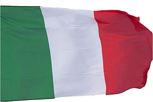R&F srls Bandiera Italia Tricolore Nazionale Tessuto Misura Standard 90 X 150 cm - 1