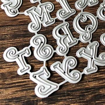 RIsxffp - Stencil in Metallo per fustellatrice, per Scrapbooking, Carta e Biglietti Multicolore - 4