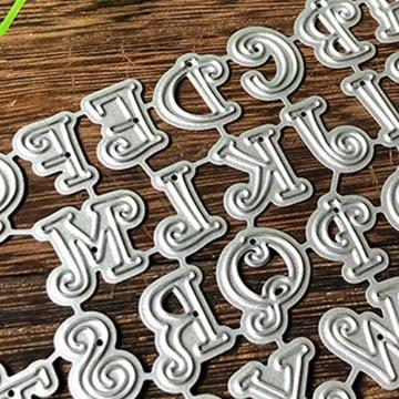 RIsxffp - Stencil in Metallo per fustellatrice, per Scrapbooking, Carta e Biglietti Multicolore - 5