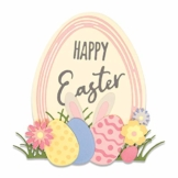 Sizzix Die 17 Pack Easter Sentiments by Set di Fustelle Thinlits 17 pz 664373 Frasi Pasquali di Emily Tootle, Multicolore, Taglia unica - 1