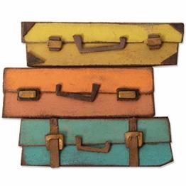 Sizzix Fustella Bigz 664439, Bagagli di Tim Holtz, Multicolore, Taglia unica - 1