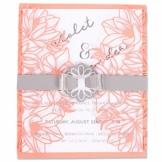 Sizzix Set di Fustelle Thinlits 7 pz 663692, Invito Fiorito, Multicolore, Taglia unica - 1