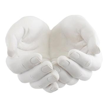 Svuotatasche in Ceramica Scultura Mani - 1