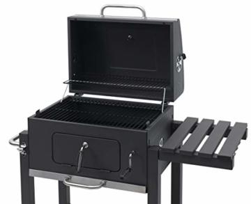 Tepro 1164 Toronto Click 2019 Barbecue a carbone, Acciaio inox, Antracite - 9