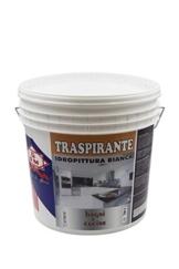 GDM-Traspirante, Idropittura Ideale Per Bagni E Cucine, Colore: Bianco, 14 litri - 1