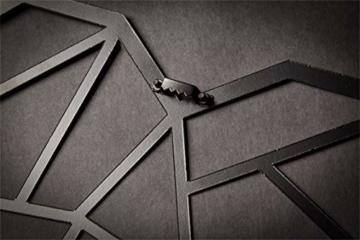 Hansmeier sculture e Parete in Metallo | Heart | 39x33cm | Decorazione per casa | Modernità e atemporalità (Heart) - 5
