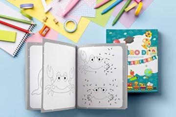 Il Libro di Prelettura: La perfetta combinazione tra un libro da colorare, un libro di puzzle e di giochi enigmisti per piccoli - 3