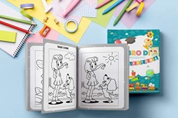 Il Libro di Prelettura: La perfetta combinazione tra un libro da colorare, un libro di puzzle e di giochi enigmisti per piccoli - 4