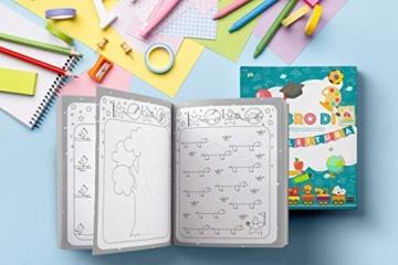Il Libro di Prelettura: La perfetta combinazione tra un libro da colorare, un libro di puzzle e di giochi enigmisti per piccoli - 5
