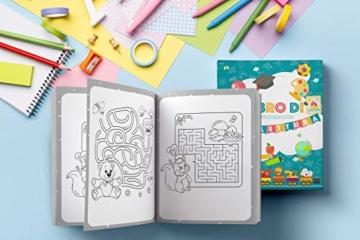 Il Libro di Prelettura: La perfetta combinazione tra un libro da colorare, un libro di puzzle e di giochi enigmisti per piccoli - 6