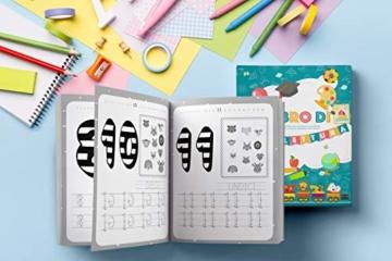 Il Libro di Prelettura: La perfetta combinazione tra un libro da colorare, un libro di puzzle e di giochi enigmisti per piccoli - 8