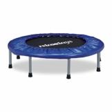 Relaxdays 10020801, Trampolino, Tappeto, Elastico E Pieghevole Unisex – Adulto, Blu, 22 x 95 x 95 cm - 1