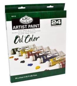 Royal & Langnickel - Confezione da 24 colori a olio da 21 ml - 1