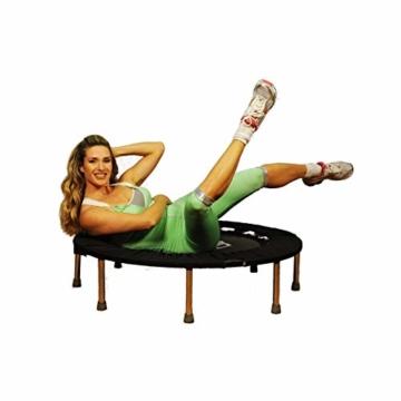 SuperJump con AAS Trampolino Elastico CoalSport di Jill Cooper 111cm Uso casa con Sacca in Offerta - 6