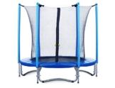 FA Sports Flyjump Monster Garden-Trampolino, Blu - blu 2, 244 cm - 1