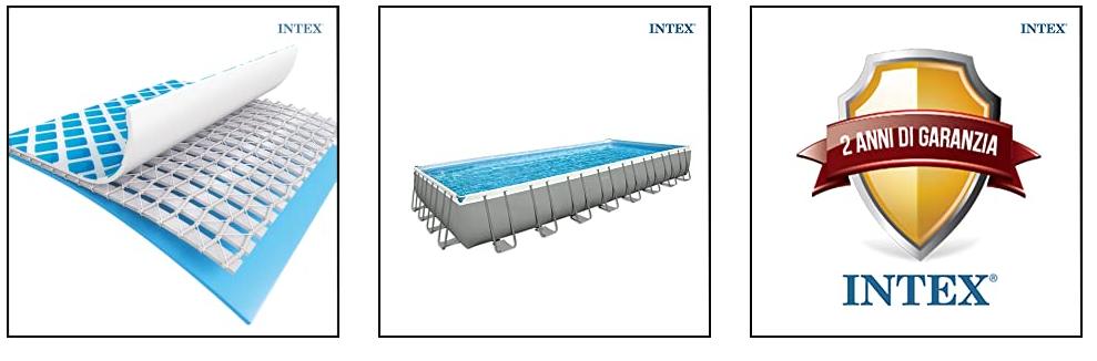 Intex 26352 - Piscina Rettangolare