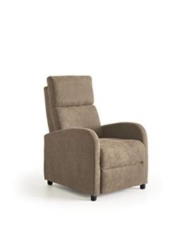 ConfortChoice - Poltrona reclinable Leiria Manuale/Marrone - 1