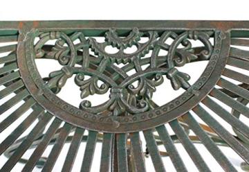 DanDiBo - Tavolino da parete semicircolare, in metallo, 90 cm, 130434 - 4