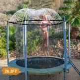 INMUA Trampolino di Irrigazione, Irrigatore Trampolino di irrigazione, Esterno per Parco Acquatico con Trampolino per Bambini, Spruzzatore di Divertimento Estivo per Ragazzi (8 M / 26,2 ft) - 1