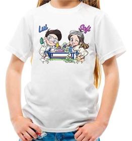 Maglietta Youtuber Lui e Sofi Slime Lab Bambina e Bambino (5-6 Anni) - 1
