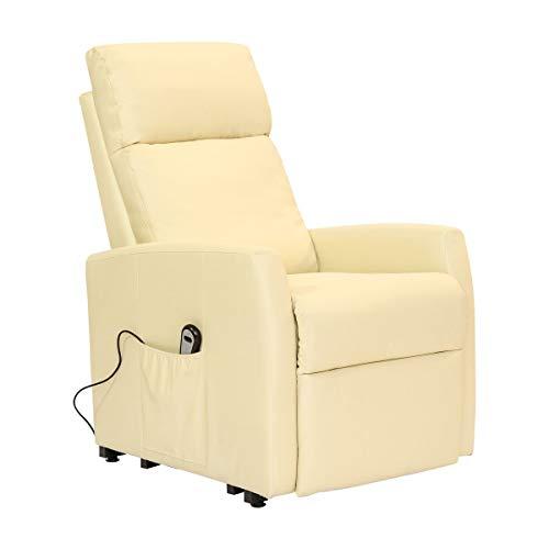 POLTRONE ITALIA - Poltrona Relax alzapersona elettrica, micromolle, No Montaggio, Poltrona reclinabile Anziani Sicurezza CE Medicale DETRAIBILE 19% - Poltrona-Irene-1M-MIRED Rosso Microfibra - 1