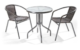 Set da giardino con tavolino e sedie Ios - 1