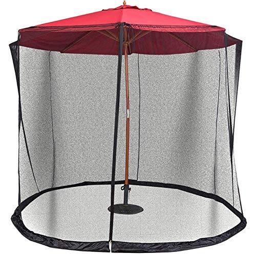 Tenflyer Patio Umbrella Zanzariera a Rete con Cerniera per ombrelloni Patio - 1