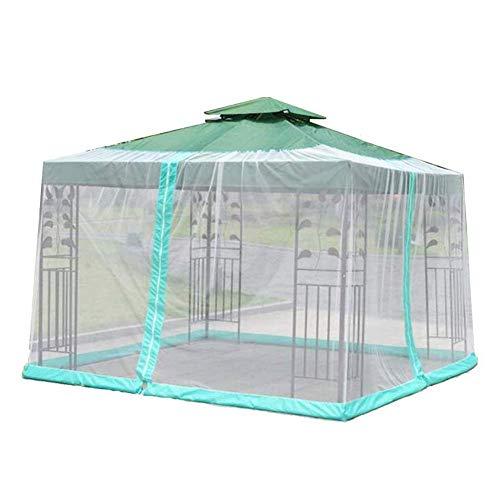 YLLN Zanzariera per Giardino Ombrellone Schermo per Esterni Tavolo Tavolo Mobili da Giardino con Cerniera Adatto per ombrelloni e tavoli per ombrelloni Ombrelloni - 1