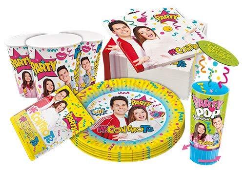 Zeus Party Kit per Feste E Compleanno- Me Contro Te -Coordinato TAVOLA Feste ADDOBBI - 1