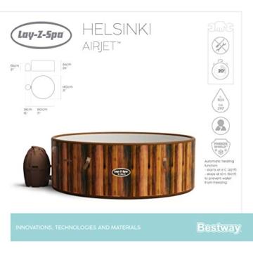 Bestway 54189 | Lay-Z-Spa - AirJet Helsinki - 5/7 adulti - 37