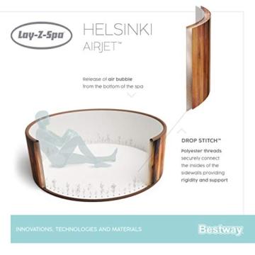 Bestway 54189 | Lay-Z-Spa - AirJet Helsinki - 5/7 adulti - 39