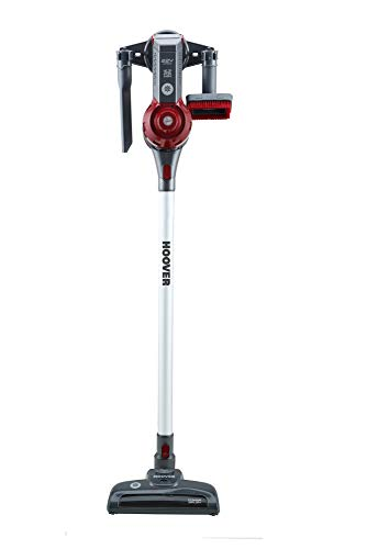 Hoover FD22RP011 Freedom - Scopa Elettrica Senza Filo, Autonomia fino a 25 min, 0,7 Litri, Allergy & Pets, Grigio e Rosso - 2