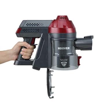 Hoover FD22RP011 Freedom - Scopa Elettrica Senza Filo, Autonomia fino a 25 min, 0,7 Litri, Allergy & Pets, Grigio e Rosso - 7