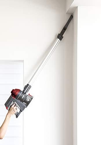 Hoover FD22RP011 Freedom - Scopa Elettrica Senza Filo, Autonomia fino a 25 min, 0,7 Litri, Allergy & Pets, Grigio e Rosso - 8