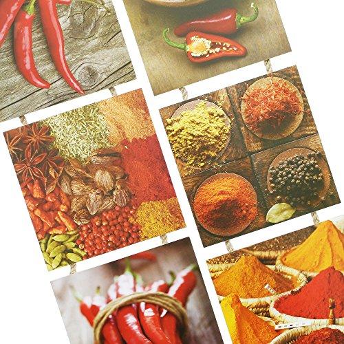 "Immagini per la cucina ""spezie"" - 1"