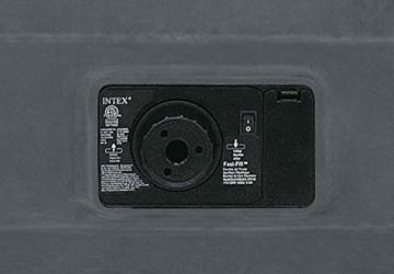 Intex 67766 Materasso Singolo Comfort Plush, 99 x 191 x 33 cm, Bicolor, Con Pompa Interna - 6