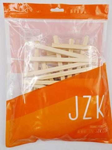 JZK 10 Cavalletto segnaposto foto mini cavalletti piccoli legno supporto segnatavolo per matrimonio battesimo compleanno decorazione tavolo - 6