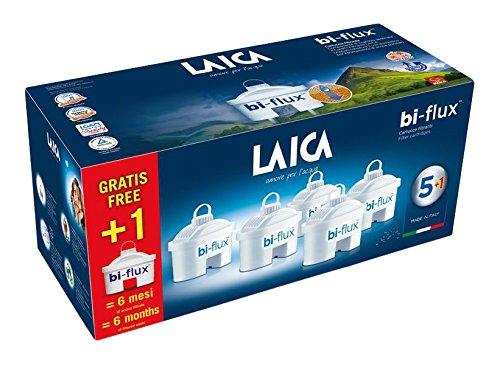 Laica F6S Cartuccia Filtrante Bi-Flux, 6 Cartucce - 1