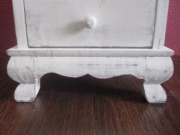 Lanterna in legno, gigante, 126 cm, colore: bianco antico - 9