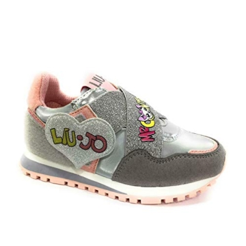 Liu Jo Wonder 2 4A0783TX Sneaker Liu Jo Me Contro Te, Primavera Estate 2020 Bambina Lui & SOFI Sintetico Grigio 31 - 1