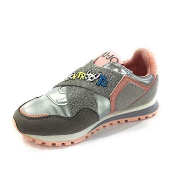Liu Jo Wonder 2 4A0783TX Sneaker Liu Jo Me Contro Te, Primavera Estate 2020 Bambina Lui & SOFI Sintetico Grigio 31 - 2
