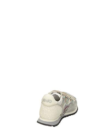 Liu Jo Wonder 41 4A0785TX Sneaker Liu Jo Me Contro Te, Primavera Estate 2020 Bambina Lui & SOFI Sintetico Argento 35 - 2