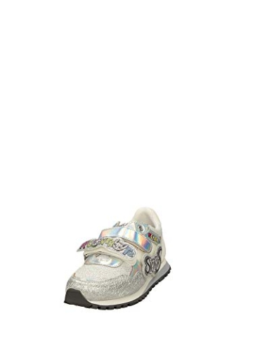 Liu Jo Wonder 41 4A0785TX Sneaker Liu Jo Me Contro Te, Primavera Estate 2020 Bambina Lui & SOFI Sintetico Argento 35 - 4