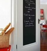 Mfeir®, lavagna di pellicola, autoadesiva, da parete, per la camera dei bambini. Lavagna nera adesiva. 45x 200cm - 1