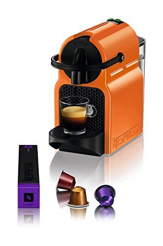 Nespresso Inissia Macchina per caffé espresso, a capsule, 1260 W, 0.7 L, Arancio (Summer Sun) - 2