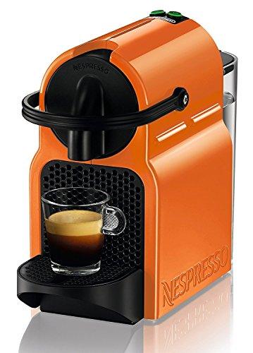 Nespresso Inissia Macchina per caffé espresso, a capsule, 1260 W, 0.7 L, Arancio (Summer Sun) - 1